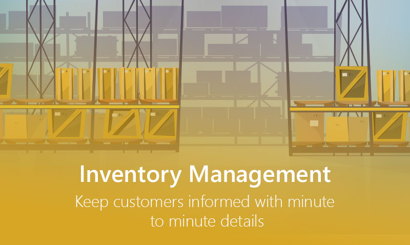chatbots inform about inventory management