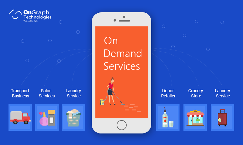 7 On-demand Services Transforming Traditional Industries And How You Can Be A Part Of On-demand Economy